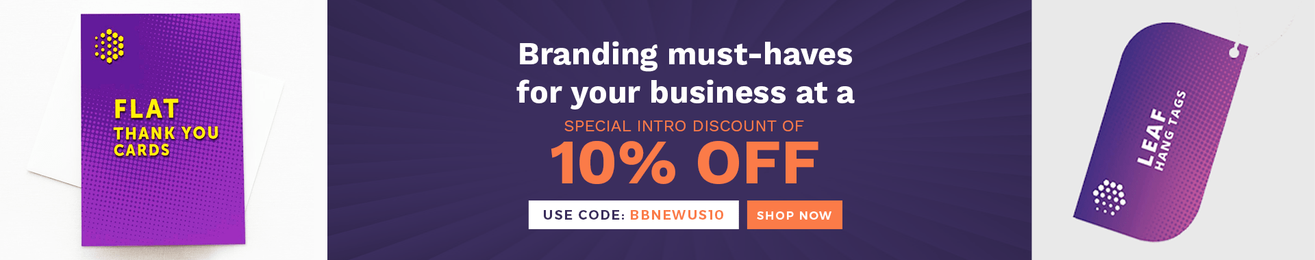 Branding must-haves for your business at a special intro discount of 10%!