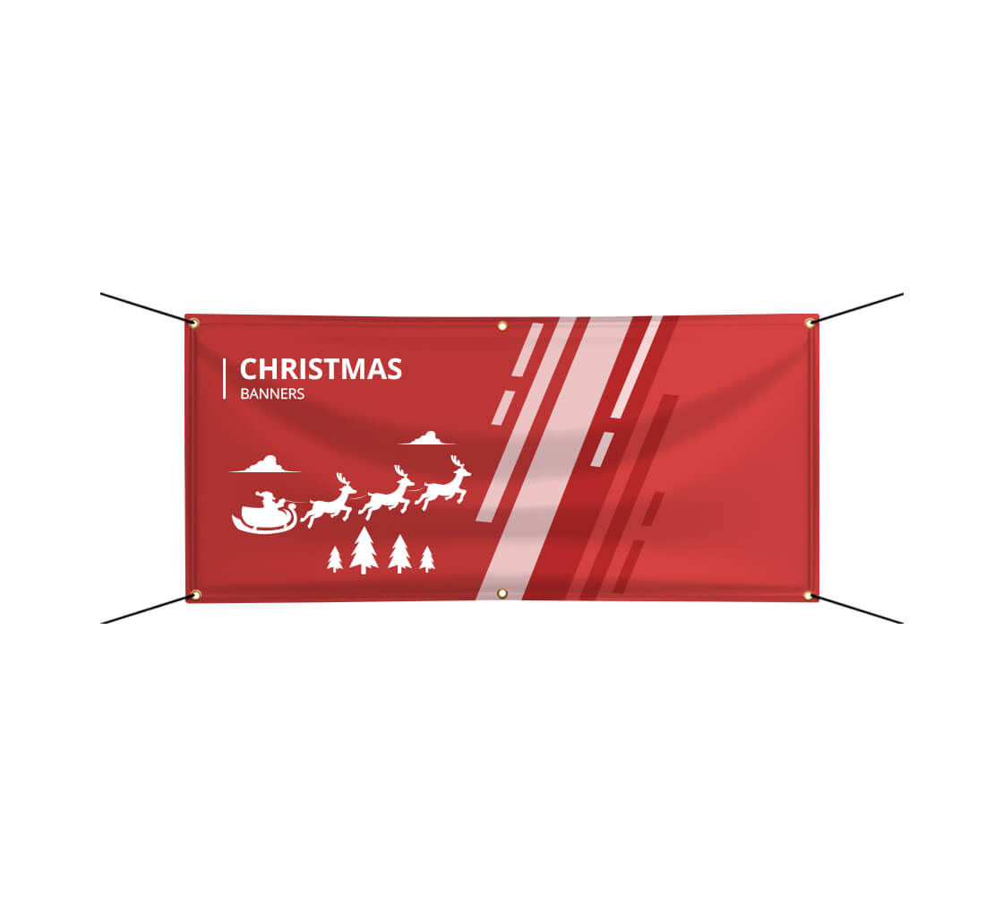 christmas banners buy custom printed holiday banners usd