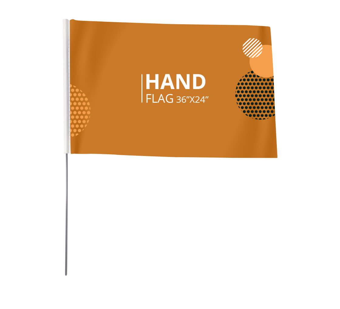 Custom Hand Held Flags Hand Held Flags Personalized Flags Personalized Flag Custom Flag 6 x 8 Customized Flag Custom Flags