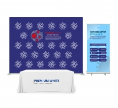 Safety Awareness 10' x 8' Backdrop Display Package