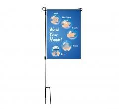 Advisory Garden Flags