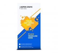 Aspen Onyx Fabric Frames