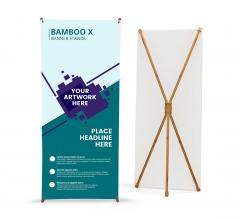 Bamboo X banner Stands