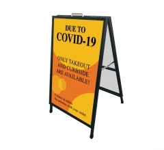 Due to Covid-19 Take Out Curbside Available Metal Frames