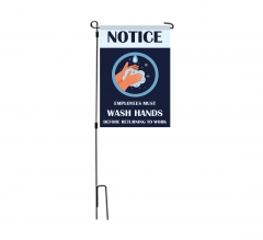 Covid-19 Prevention Wash your Hands Garden Flags