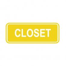 Closet Sign