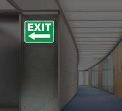 Reflective Directional Signs