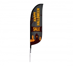 Halloween Feather Flags