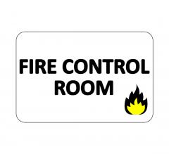 Fire Control Room Sign
