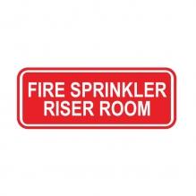Fire Sprinkler Riser Room Sign