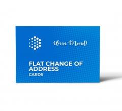 Flat Change Of Address Cards
