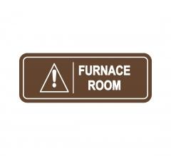Furnace Room Sign