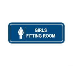 Girl's Fitting Room Sign