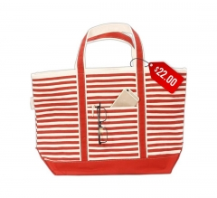 Free Karma Stripe Boat Tote - Medium