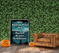 Halloween Patio Signs