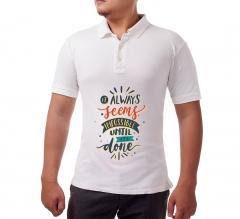 Cotton Polo Shirt - Printed