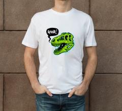 Cotton Printed T-Shirt - Crew Neck