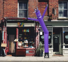 Purple Inflatable Tube Man