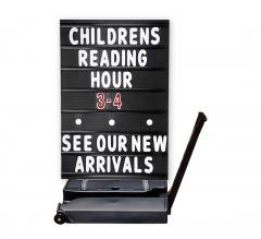 Rolling Springer Message Board Black