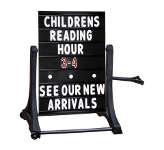 Rolling Swinger Message Board Black