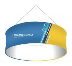 Skytube Circle Hanging Banners