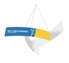 Sky Tube Pinwheel Hanging Banners