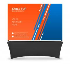 Table Top Banner - Back Wall Display