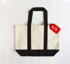 Free Tote Bag with Black Handle