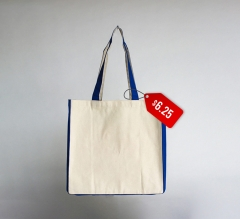 Free Two-tone Colored Tote Bag
