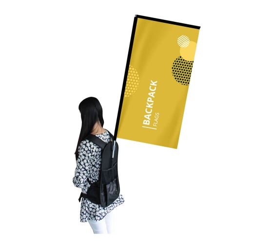 Backpack Flags - Rectangle