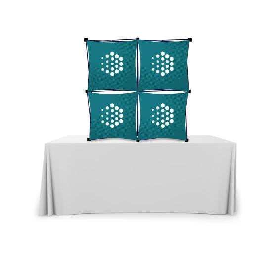 2x2 Micro GeoMetrix Table Top Display