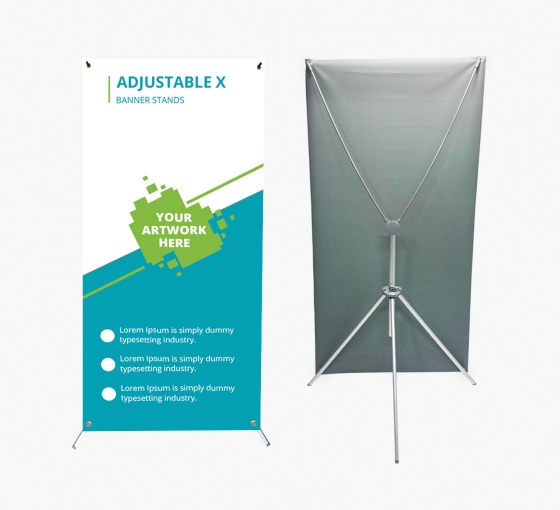 Adjustable X Banner Stands