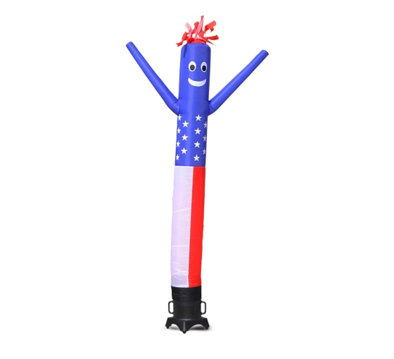 American Flag Inflatable Tube Man