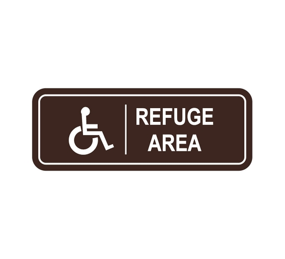Area Of Refuge Sign