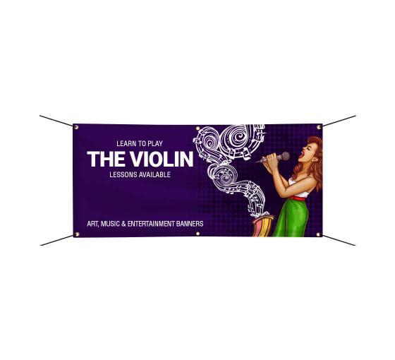 Vinyl Banner Design Festival Music Banners Bannerbuzz