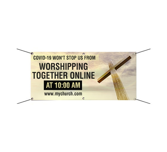 Shop Church Banners And Signs And Save Up To 25 Bannerbuzz