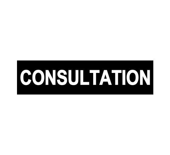 Consultation Sign