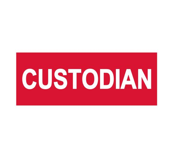 Custodian Sign
