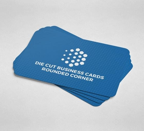 Rounded Corners Business Cards Custom