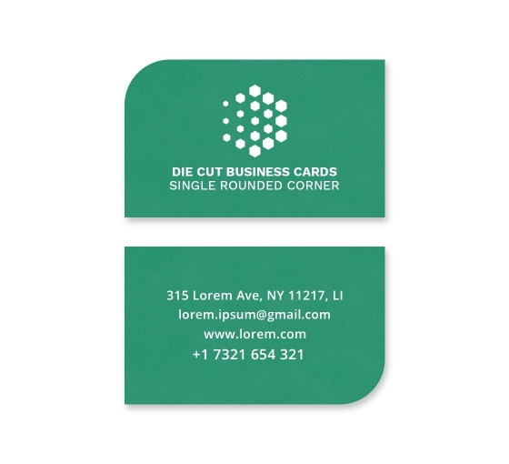 Die-Cut Business Cards