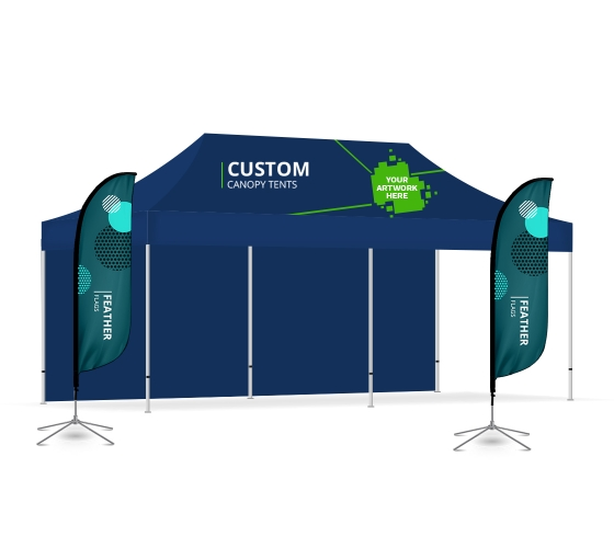 Display Package for 6m x 3m Trade show booth