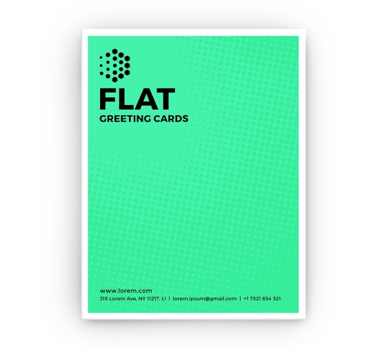 Flat Greeting Cards