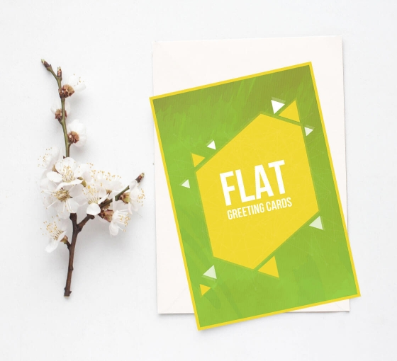 Flat Greeting Cards - Vertical