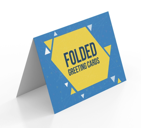 Folded Greeting Cards - Vertical