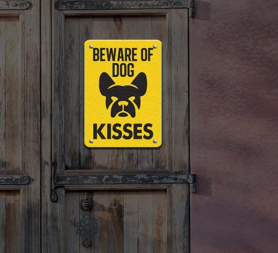 Reflective Funny Beware of Dog Signs