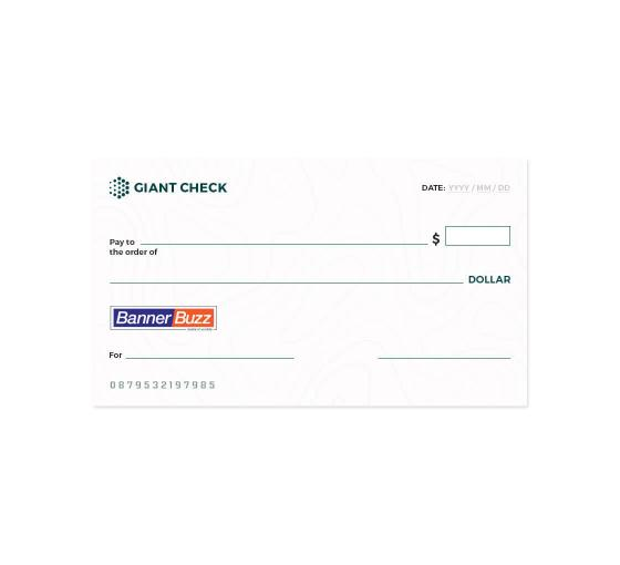 Giant Checks