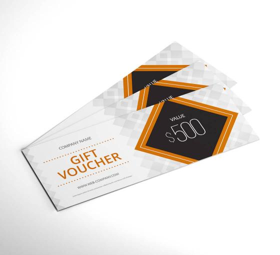 Custom Gift Certificates Voucher Gift Certificate Printing