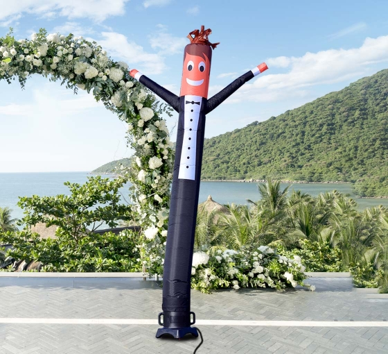 Groom Inflatable Tube Man Character