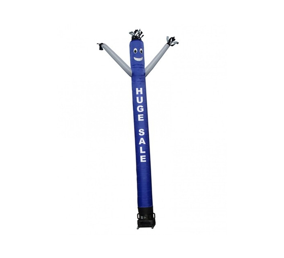 Huge Sale Inflatable Tube Man Blue with White Arms