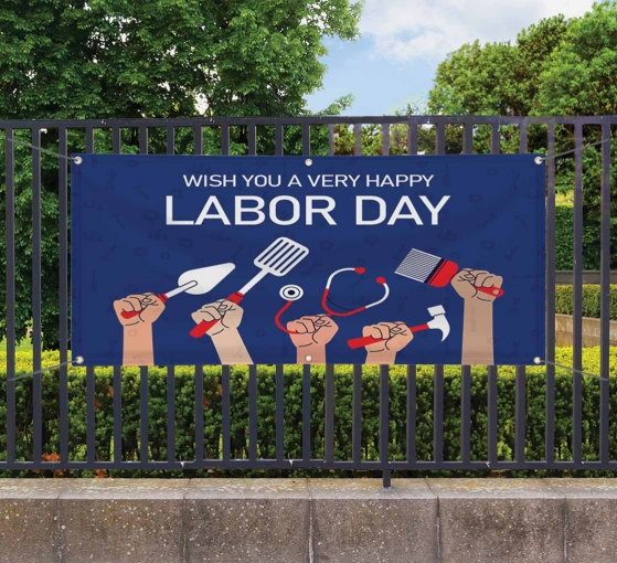 Labor Day Banners